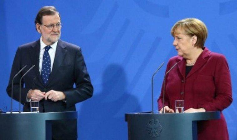 Mariano Rajoy i Angela Merkel