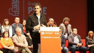 """21-D.- Pedro Sánchez: """"La única vía para solucionar el desgarro social es la vía de la política, no la penal"""""""