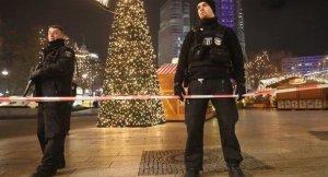 Agentes policiales Alemania Navidad