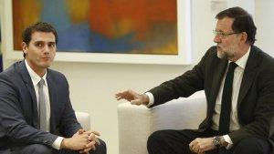 Albert Rivera i Mariano Rajoy