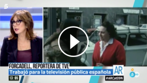 Ana Rosa Quintana i Carme Forcadell
