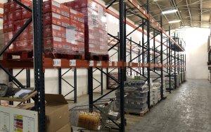 Aquest és l'estat en què es troba ara mateix el magatzem d'aliments