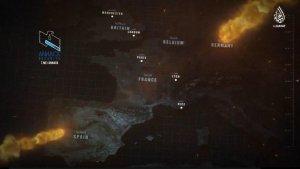 Captura del vídeo propandístico del Daes 'Flames of War II'