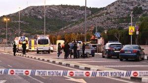 Efectius policials a la zona d'Elda