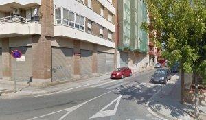 El carrer on obrirà una nova botiga.