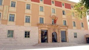 El palau de la Diputació de Tarragona.