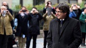 El president Puigdemont està a Brusel·les sense protecció dels Mossos.