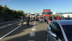 El tall a l'AP-7 afecta el tram entre Tarragona i Torredembarra