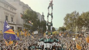 Els Castellers de Vilafranca, en una imatge d'arxiu.