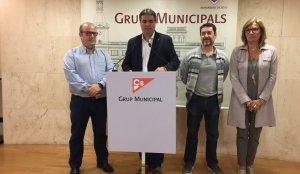 Els regidors del grup municipal de Ciutadans a Reus