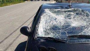 Estado del coche que atropelló a Nicky Hayden
