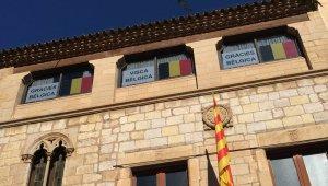 Façana de la Casa de la Vila a Montblanc.