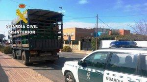 Guàrdia Civil a Castelló