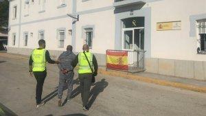 Home detingut per la Guàrdia Civil