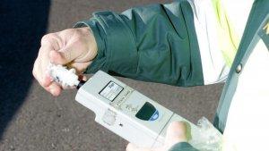 Imagen de archivo de un control de alcoholemia