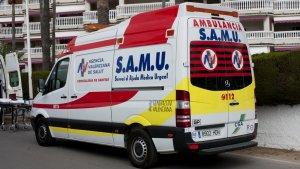 Imagen de archivo de una ambulancia del SAMU
