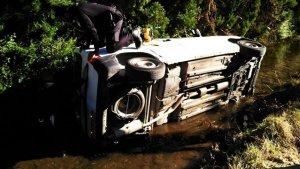 Imatge de com es trobava el cotxe de l'ancià