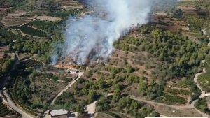incendi Vall d'Uixó