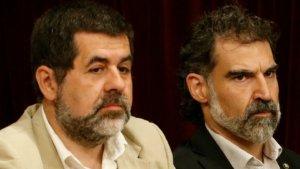 Els Jordis segueixen a pressó per un presumpte delicte de sedició