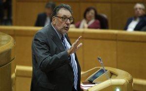 Josep Lluís Cleries, en una jornada al Senat