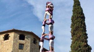 La Colla Jove ha descarregat el sisè 3 folrat lila de l'any, una setmana abans d'afrontar els seus objectius de cara a l'actuació de Vilanova i La Geltrú.