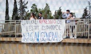 La Vaga General del 3-O atura Tarragona