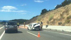 L'accident ha tingut lloc al punt quilomètric 1.166 de l'A-7, a Tarragona