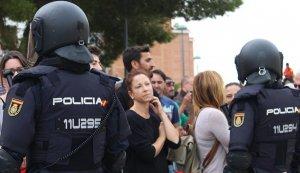 Les imatges de l'actuació policial de l'1-O a Tarragona