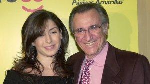 Manolo Escobar y su hija Vanessa