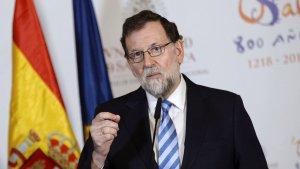 Mariano Rajoy a la investidura de Jean-Claude Juncker