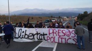 Una de les pancartes de la mobilització.