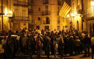 Unes 150 persones han assistit a l'acte de l'Espluga.