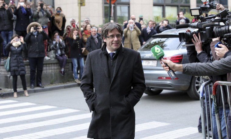 Carles Puigdemont a Brusel·les