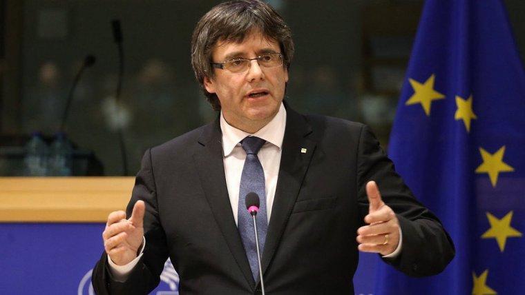 Carles Puigdemont, en una imagen de archivo en Bruselas