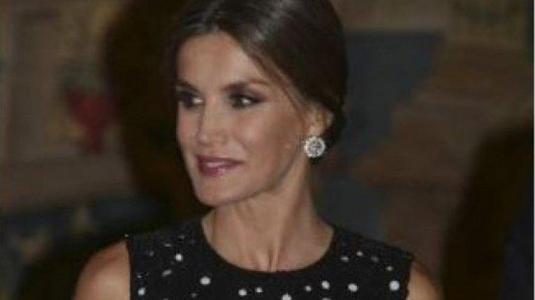 Doña Letizia con un aspecto bronceado