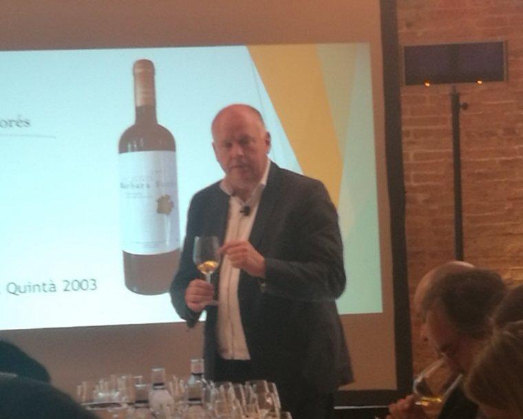 El Master of Wine, Frank Smulders