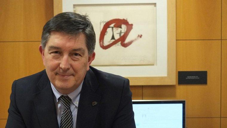 El rector de la URV, Josep Anton Ferré, en una imatge d'arxiu
