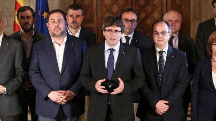 Imatge d'arxiu del Govern legitim de la Generalitat