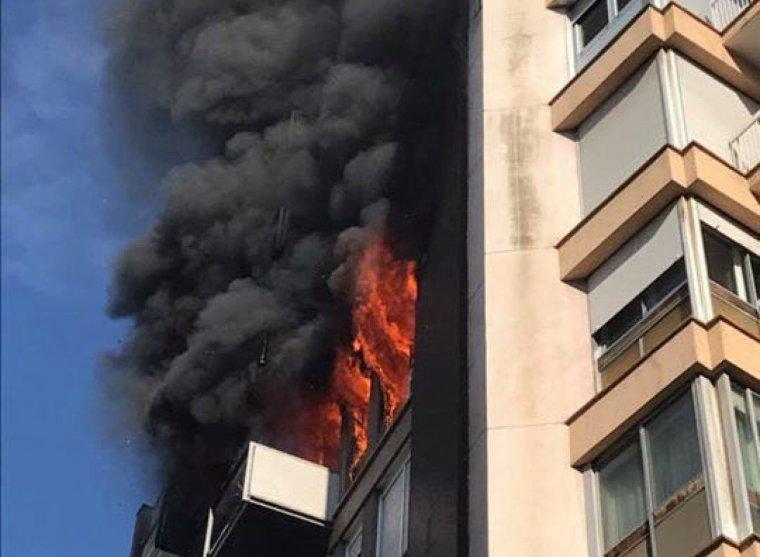 L'incendi del bloc d'habitatges de Barcelona