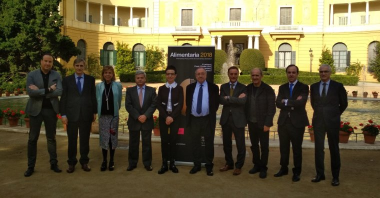 Representants de les entitats organitzadores de la fira 2018