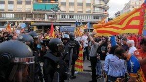 Agressions el dia 9 d'Octubre a València