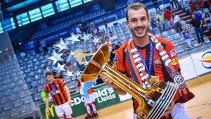 Celebració de la vuitena Copa d'Europa del Reus Deportiu