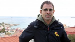 El cap de llista de la CUP per Tarragona, Xavier Milian.