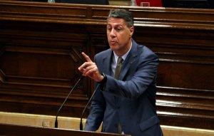El líder del PPC Xavier Garcia Albiol al Parlament, el 26 d'octubre.