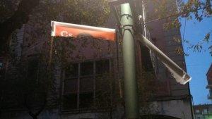 Els cartells arrencats de Ciutadans.