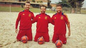 Els tres jugadors de Torredembarra es concentraran des d'avui al CAR de Sant Cugat amb la resta del combinat.