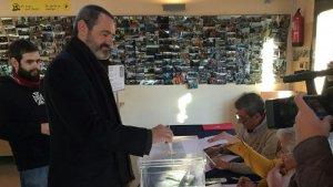 Eusebi Campdepadrós ha votat aquest matí, i ha fet una crida a la participació massiva