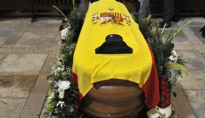 Funeral guardia civil Tordesillas