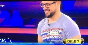 Imagen de Alberto durante el programa.