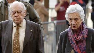 Imatge d'arxiu de Jordi Pujol i Marta Ferrusola.